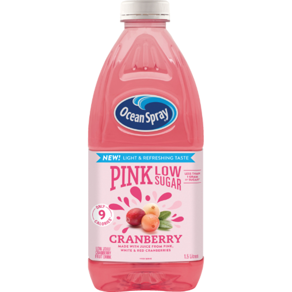 Ocean Spray Fruit Drink Pink Low Sugar 1.5l