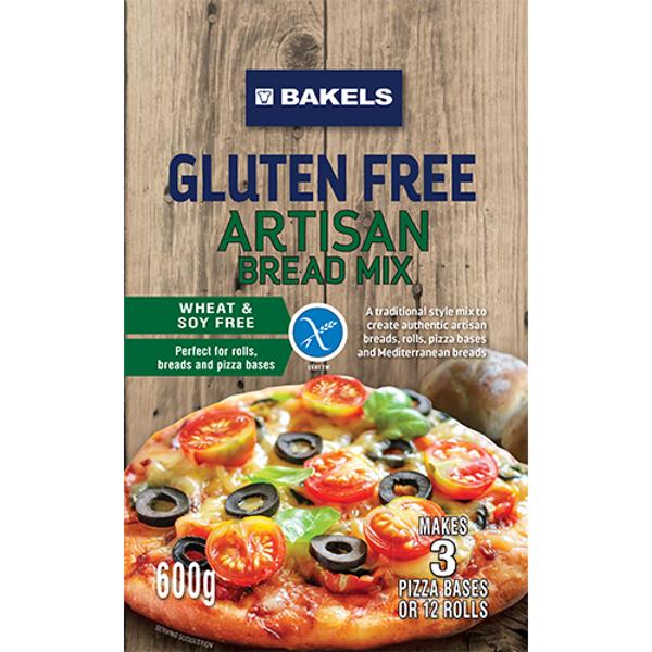 Bakels Gluten Free Artisan Bread Mix 600g