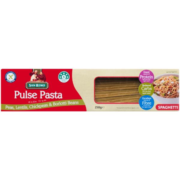 San Remo Spaghetti Pulse Pasta 250g