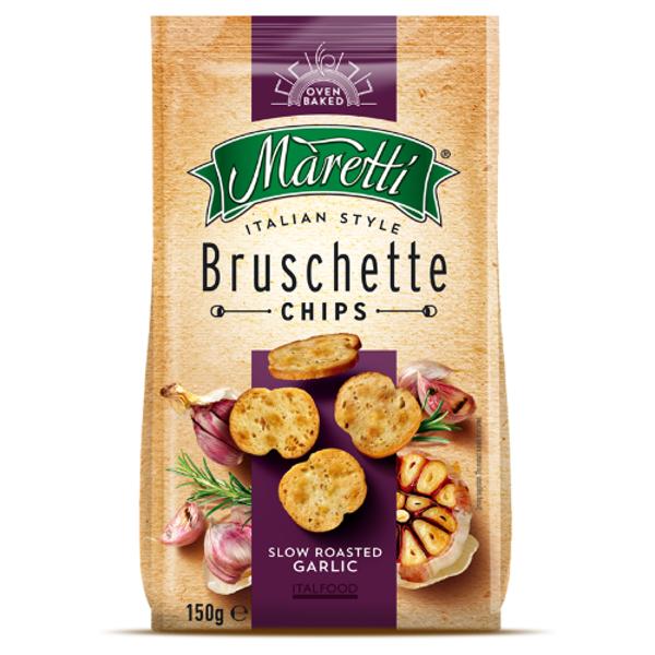 Maretti Roasted Garlic Brushette 150g