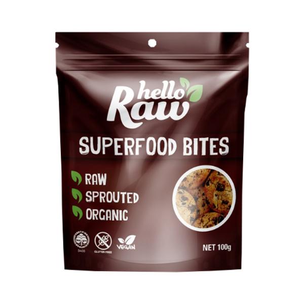 Hello Raw Superfood Bites 100g