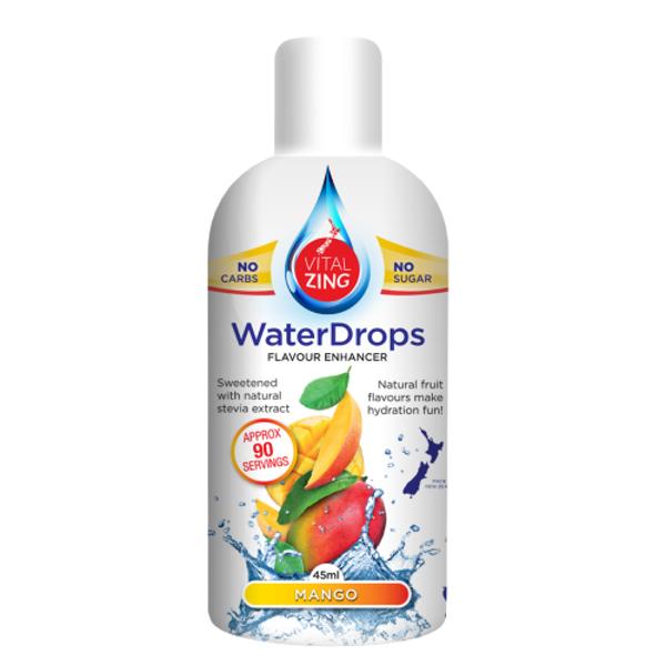 Vital Zing Mango Water Drops 45ml