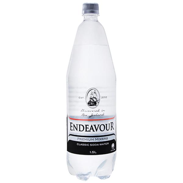 Endeavour Premium Mixers Classic Soda Water 1.5l