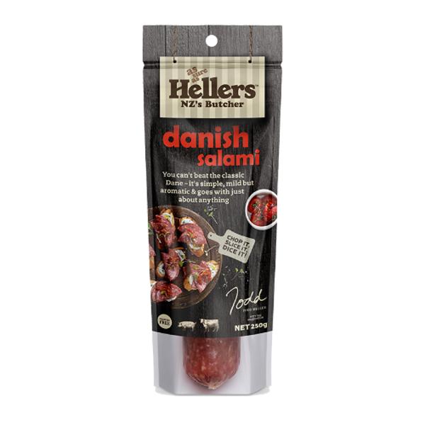 Hellers Danish Salami 250g