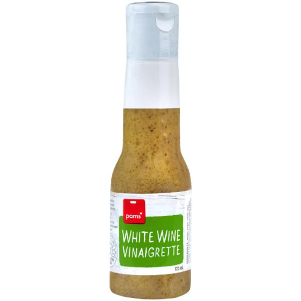 Pams Fresh Express White Wine Vinaigrette 125ml