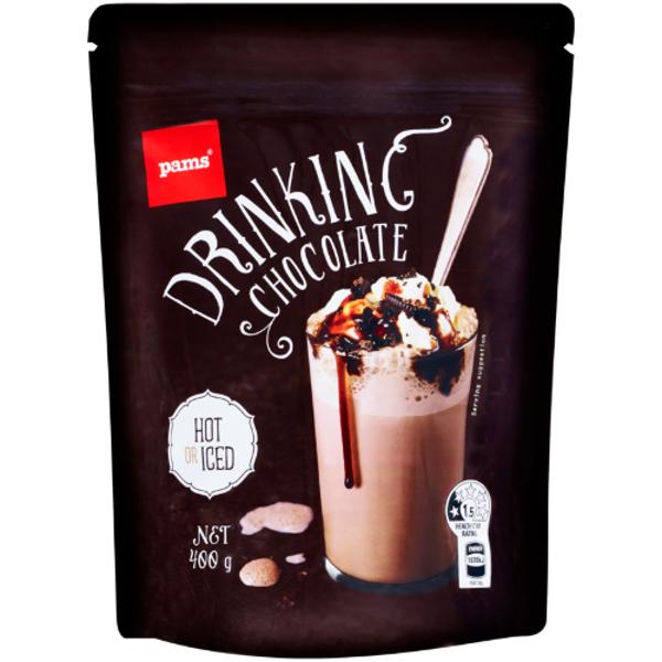 Pams Drinking Chocolate 400g