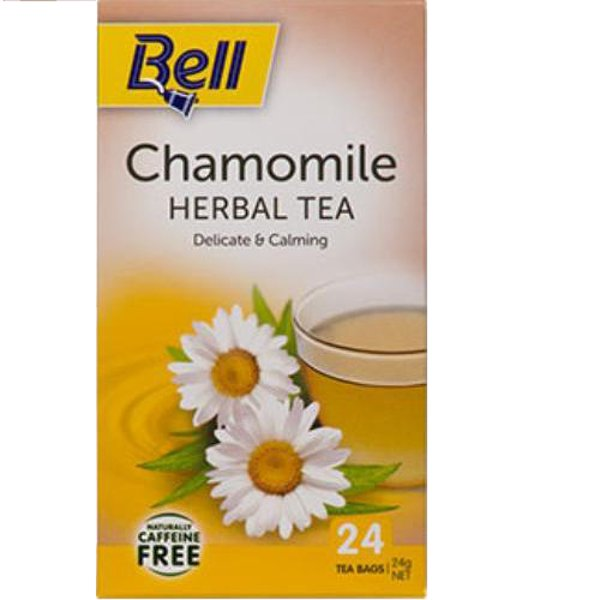Bell Chamomile Herbal Tea bags 24ea