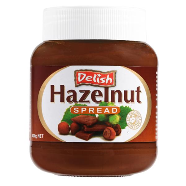 Delish Hazelnut Spread 400g