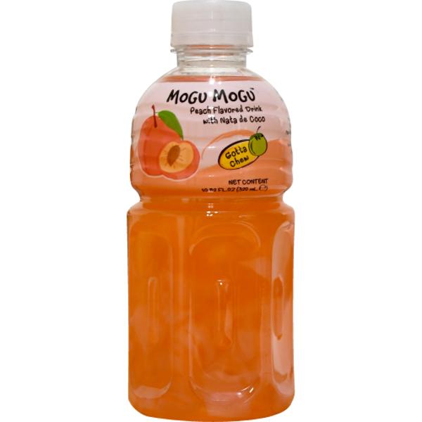 Mogu Mogu Peach Flavoured Drink With Nate De Coco 320ml