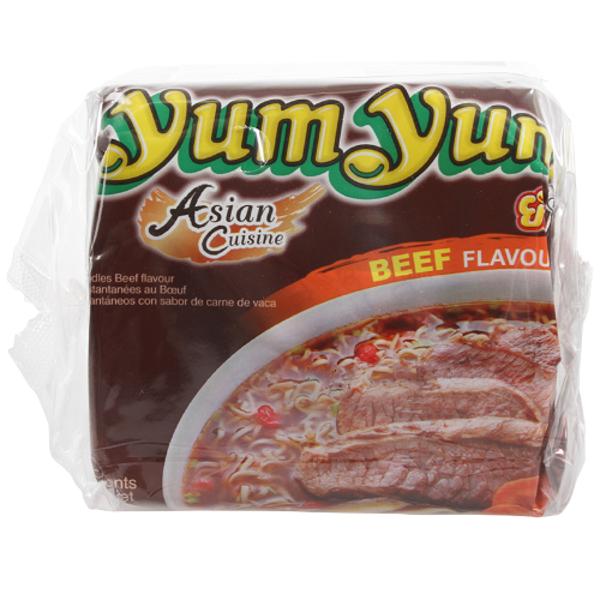 Yum Yum Beef Noodles 300g
