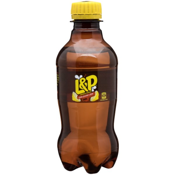 Lemon & Paeroa Soft Drink 300ml