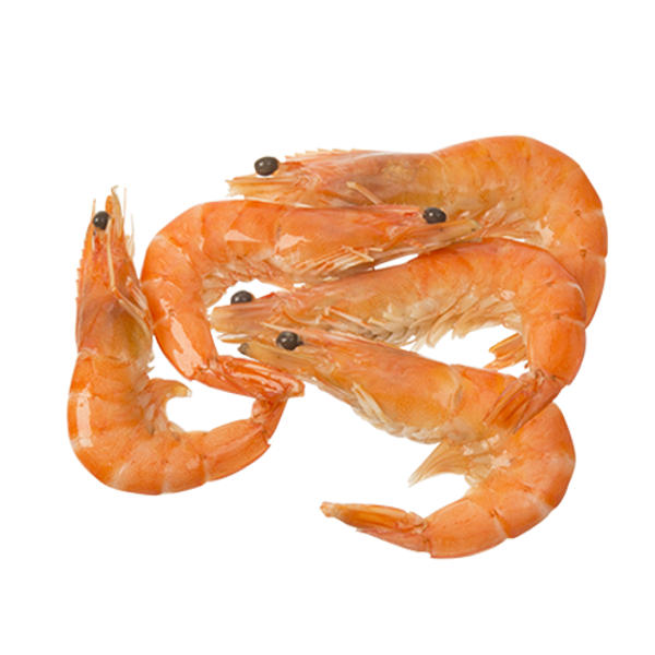 Seafood VN Vannamei Prawns Whole Cooked Frozen 1kg
