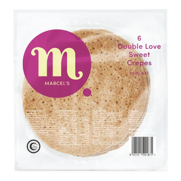 Marcel's Double Love Sweet Crepes 6ea