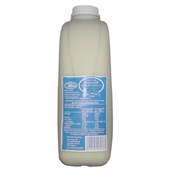 Hing's Natural Soy Milk 1l