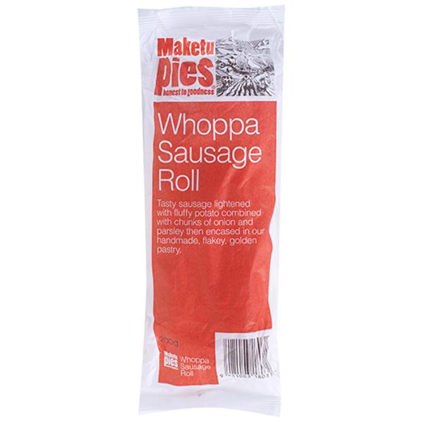 Maketu Pies Whoppa Sausage Roll 1ea