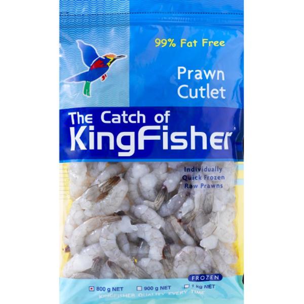 Kingfisher Prawn Cutlet 800g