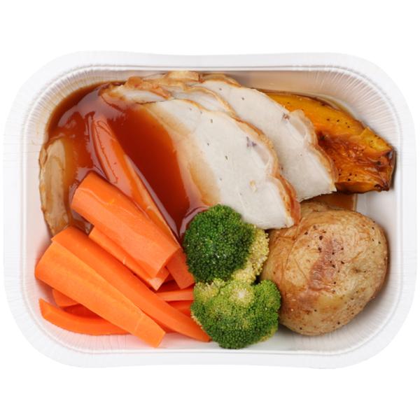 Service Deli Roast Pork Meal 1ea