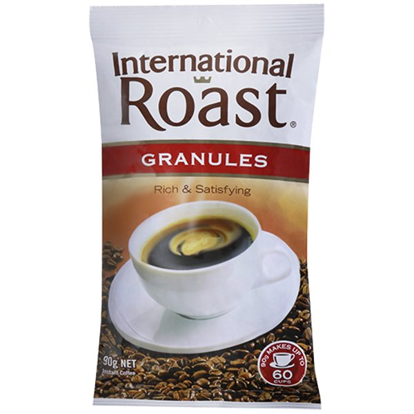 International Roast Instant Coffee Granules 90g
