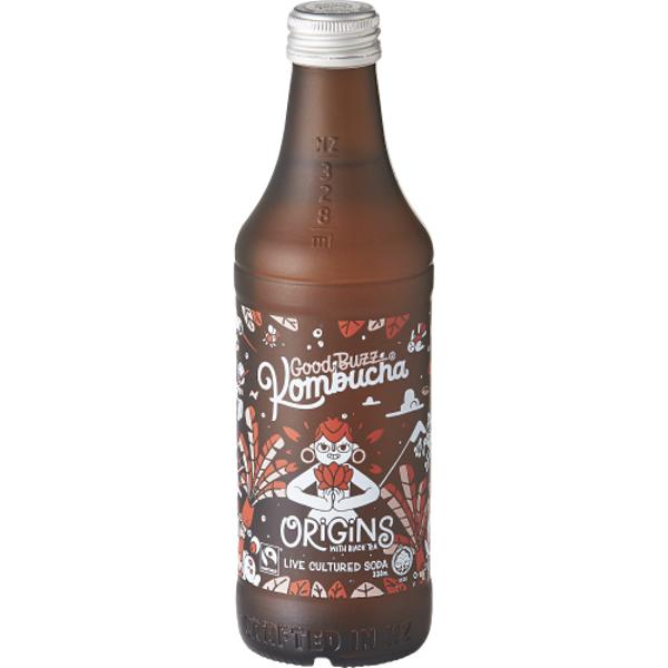Good Buzz Origins Black Tea Kombucha 328ml