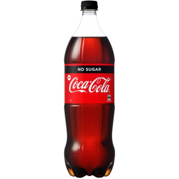 Coca Cola No Sugar Soft Drink 1.5l