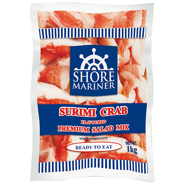 Shore Mariner Surimi Crab Flavoured Premium Salad Mix 1kg