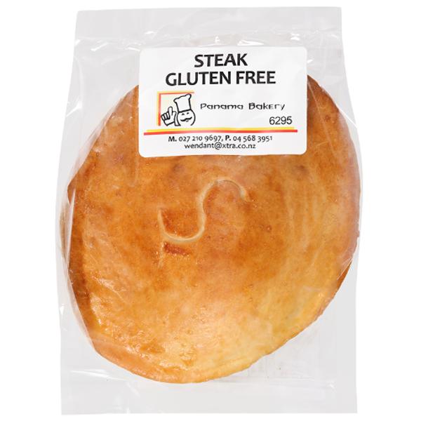 Panama Bakery Gluten Free Steak Savoury Pie 220g
