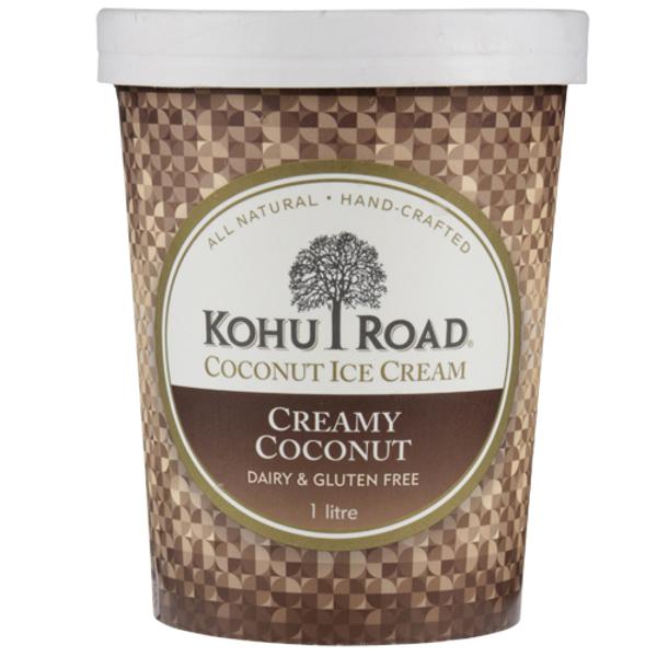Kohu Road Creamy Coconut Coconut Ice Cream 1l