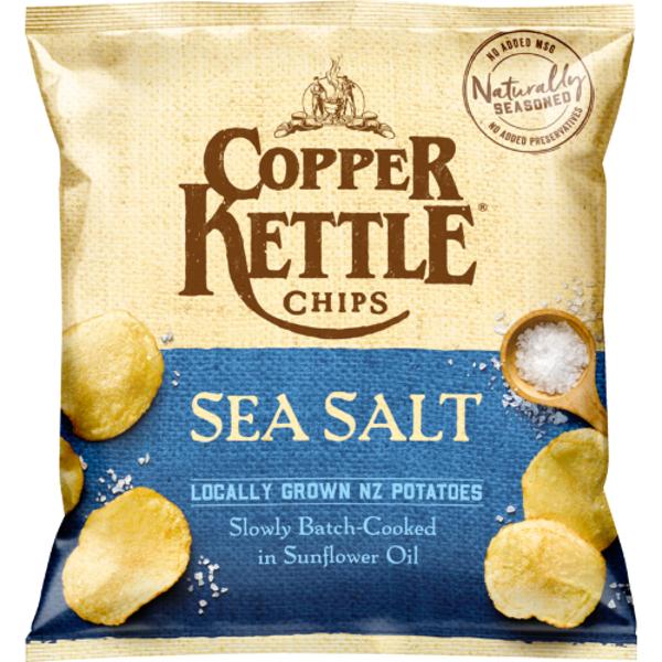 Copper Kettle Sea Salt Potato Chips 40g