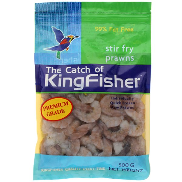 Kingfisher Premium Raw Stir Fry Prawns 500g