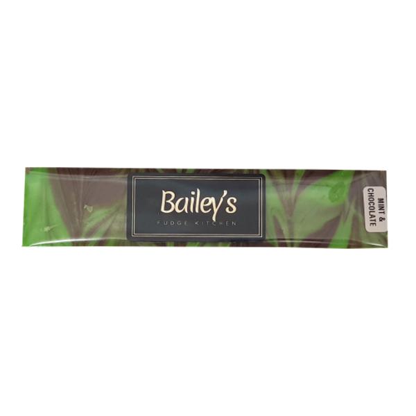 Bailey's Fudge Kitchen Mint Choc Swirl Fudge 160g
