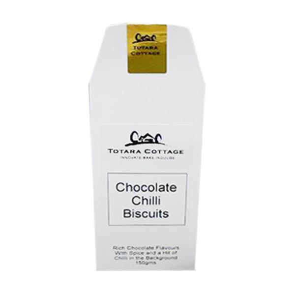 Totara Cottage Chocolate Chilli Biscuits 150g