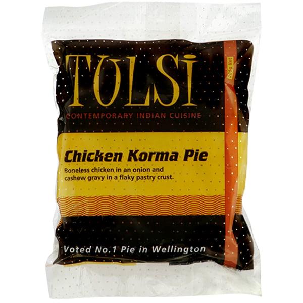 Tulsi Chicken Korma Pie 200g