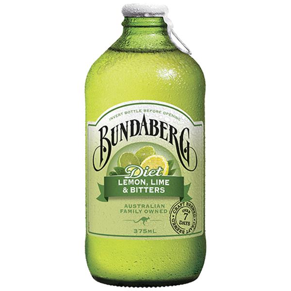 Bundaberg Diet Lemon Lime & Bitters 375ml