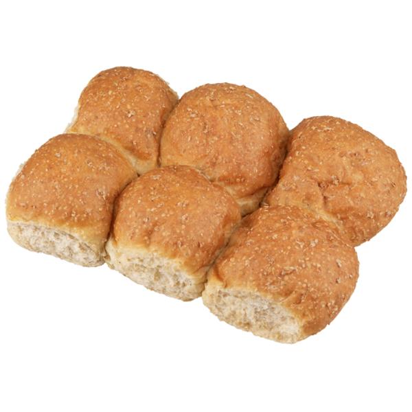 Bakery Wheatmeal Dinner Rolls 6ea