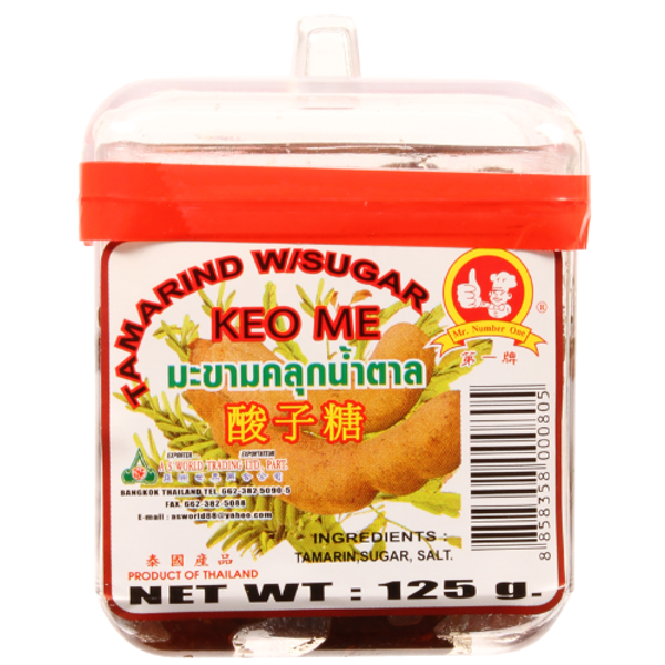 Mr Number One Tamarind With Sugar 125g