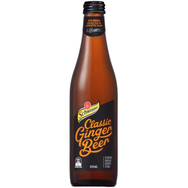 Schweppes Classic Ginger Beer 330ml