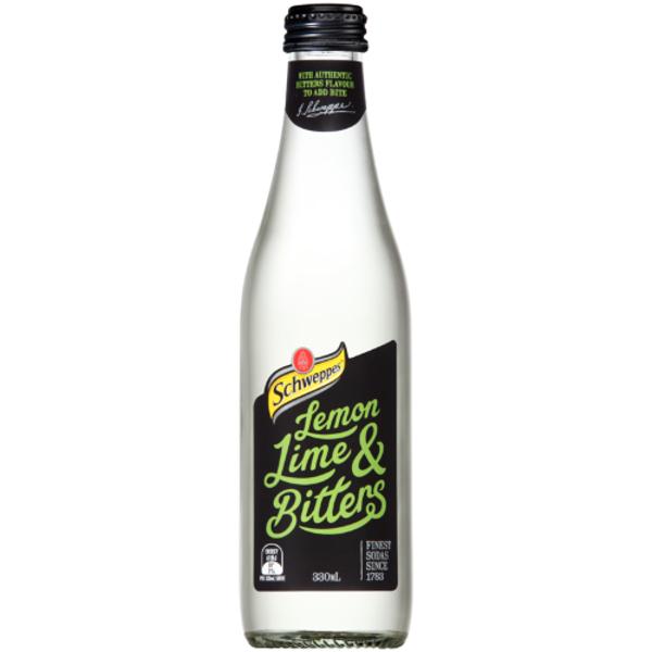 Schweppes Lemon Lime & Bitters 330ml