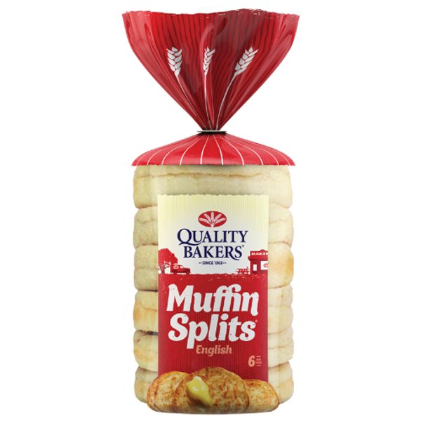 Quality Bakers Original English Muffin Splits 6ea
