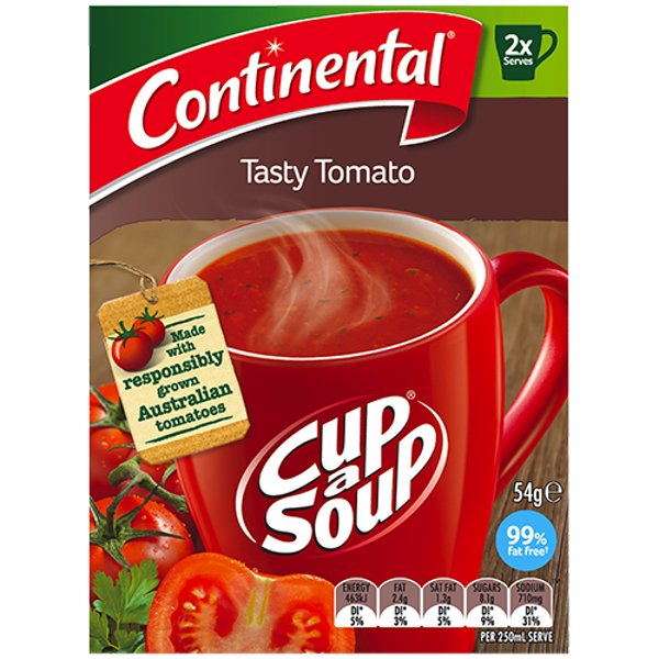 Continental Tasty Tomato Cup A Soup 2pk
