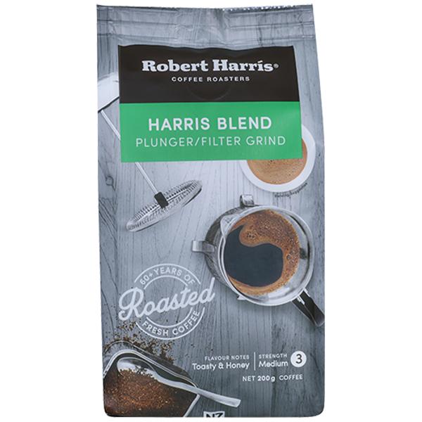Robert Harris Harris Blend Coffee Plunger & Filter Strength 3 200g