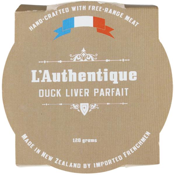L'Authentique Duck Liver Parfait 120g