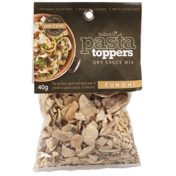 Belladotti Funghi Dry Sauce Mix Pasta Toppers 40g