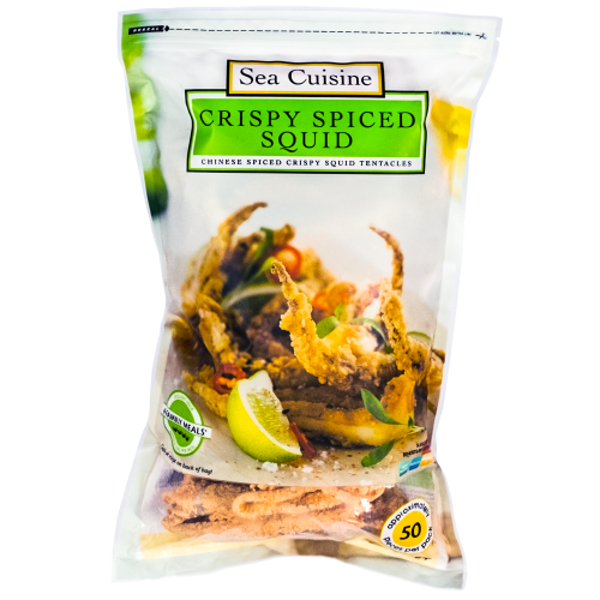 Sea Cuisine Crispy Spiced Squid 1kg