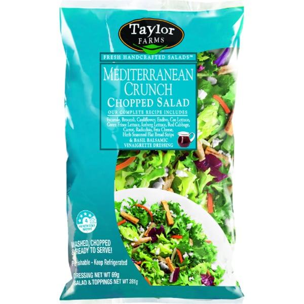 Taylor Farms Mediterranean Crunch Chopped Salad 298g