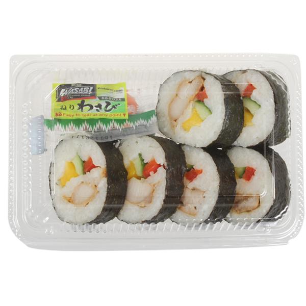 Service Deli Teriyaki Chicken & Cucumber Sushi Pack 1ea