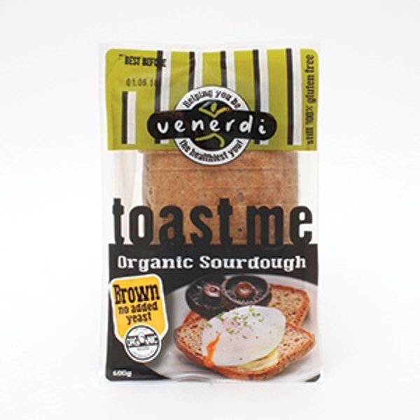 Venerdi Organic Sourdough Brown Loaf 600g