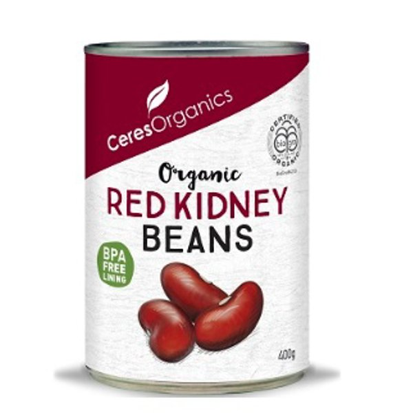 Ceres Organic Red Kidney Can 400g