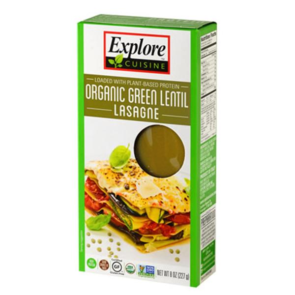 Explore Cuisine Organic Green Lentil Lasagne 250g