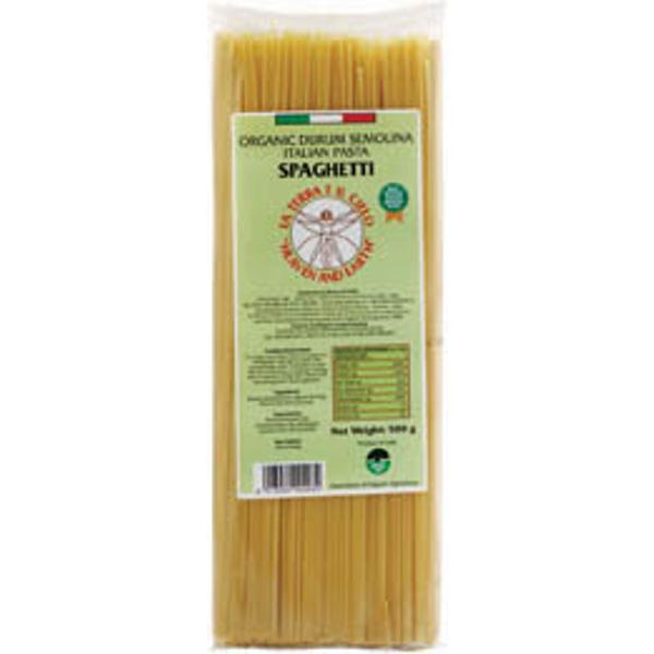 La Terra E Il Cielo Organic Durum Semolina Spaghetti 500g
