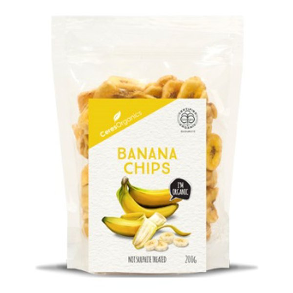 Ceres Organics Banana chips 200g